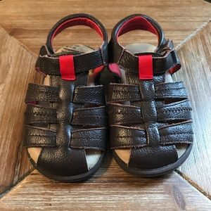 Toddler Boy Leather Tucker + Tate Sandals